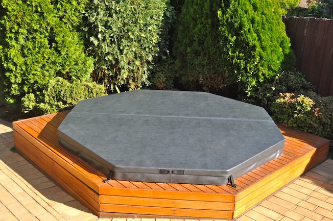 Octagonal Spa Cover