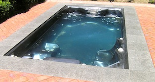 Rectangular 3-piece spa cover